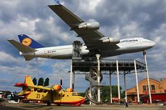 Boeing B747-230B  n° 21588/342  ~ D-ABYM (Aero.passion DBC-1) Tags: technic musem speyer avion aircraft aviation plane aeropassion dbc1 david biscove collection boeing b747 ~ dabym