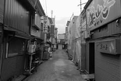 Shinjo 11 (peaceblaster9) Tags: town street shinjo yamagata japan sony rx100m3 blackandwhite bnw bw blackwhite 新庄 山形 モノクローム 白黒