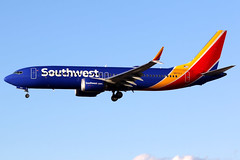 Southwest Airlines | Boeing 737-8 | N8721J | Las Vegas McCarran (Dennis HKG) Tags: aircraft airplane airport plane planespotting canon 7d 100400 lasvegas mccarran klas las southwest southwestairlines swa wn boeing 737 7378 boeing737 boeing7378 737max boeing737max n8721j