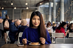 Light Lunch (Photos By Dlee) Tags: canoneosm5 canonm5 m5 mirrorless canon apsc canonefm32mmf14stm canon32mmf14stm canonprimelens primelens prime photo photosbydlee photography australia sydney newsouthwales nsw autumn portrait bokeh bokehlicious