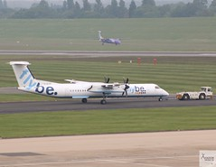 Flybe DHC-8-Q402 G-ECOF being towed at BHX/EGBB (AviationEagle32) Tags: birminghamairport birminghaminternationalairport birmingham bhx egbb unitedkingdom uk airport aircraft airplanes apron aviation aeroplanes avp aviationphotography avgeek aviationlovers aviationgeek aeroplane airplane planespotting planes plane flying flickraviation flight vehicle tarmac flybe bombardier bombardieraerospace bombardierdash8 bombardierdh8q4 bombardierdhc8q400 dhc8q400 dash8 dh8q4 gecof turboprop