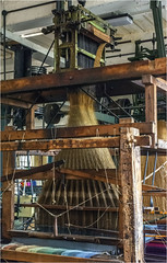 Weaving #1 (Clive1945) Tags: yorkshire bradfordindustralmuseum d7100 loom thread indutry