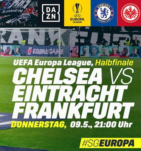 Eintracht Frankfurt - Europa League semi-final v Chelsea - fixture details