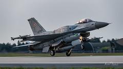 Lockheed Martin F-16C Jastrząb (4070) (Michał Banach) Tags: 31bazalotnictwataktycznego epks f16 krzesiny lockheedmartinf16cjastrząb nikond850 poland polishairforce polisharmy polska sigma60600mmf4563dgoshsms018 airbase aircraft airplane aviation fighter jet lotnictwo military warplane