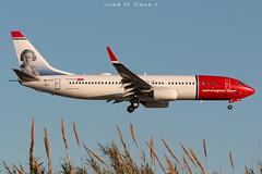 Norwegian B737-8JP EI-FJY (José M. Deza) Tags: 20190504 b7378jp bcn boeing eifjy elprat lebl norwegain planespotting spotter aircraft