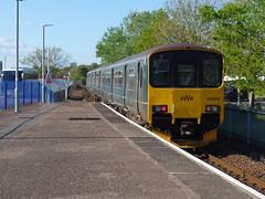 150001 Exmouth (2) (Marky7890) Tags: gwr 150001 class150 sprinter 2b82 exmouth railway devon avocetline train