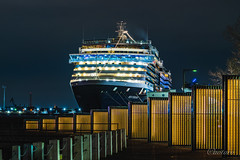 Westerdam at Port Of Yokohama, Japan (aotaro) Tags: ilce7m3 night nightphotography kanagawa nightview fe70300g yokohama westerdam cruiseship osanbashipier japan ship
