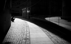 The Break (Sven Hein) Tags: mann menschen leute strasse frühling schwarzweiss strassenfotografie thebreak man people silhouette street streetlife spring bw blackandwhite candid streetphotography olympus penf
