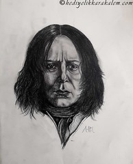Severus Snape Drawing | Sketching | Karakalem (hediyelikkarakalem) Tags: charcoal charcoaldrawing drawings draw image pictures illustration graphics paintings sketching pencildrawing art myart graphic creative portrait abstractart life love realism cool awesome beautiful sketchbook artist lifestyle europe usa design birthday
