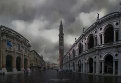 it rains in vicenza (Alessandro Andrioli) Tags: vicenza palladio pioggia rain veneto italia