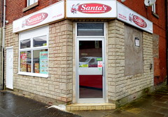 Santas Pizza, Preston (Tony Worrall) Tags: preston lancs lancashire city welovethenorth nw northwest north update place location uk england visit area attraction open stream tour country item greatbritain britain english british gb capture buy stock sell sale outside outdoors caught photo shoot shot picture captured ilobsterit instragram photosofpreston fastfood corner shop eat foodie food door portal doorway architecture buildings built pizza cafe venue plungington