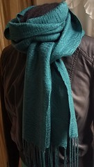 Swedish lace tencel scarf (Sweet Annie Woods) Tags: