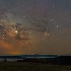 Rho Ophiuchi (Piotr Potepa) Tags: night nightscape nightscapes nightsky bieszczady poland astrofotografia astrophoto