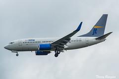 [CDG] Jettime Boeing 737-700 _ OY-JTP (thibou1) Tags: thierrybourgain cdg lfpg spotting aircraft airplane nikon d810 tamron sigma jettime boeing boeing737 b737 b737700 sas oyjtp landing