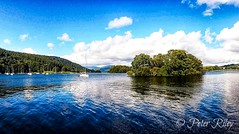 Windermere under stunning blue skies. (peterileypics) Tags: lake lakedistrict sky clouds lightroom light blue colour windermere landscape scenery