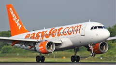 G-EZBA (AnDyMHoLdEn) Tags: easyjet a319 egcc airport manchester manchesterairport 05r