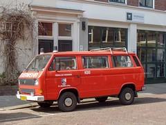 Den Haag, april 2019 (Okke Groot - in tekst en beeld) Tags: denhaag sidecode7 77gtb4 volkswagen balistraat vwtyp2t3255521kleinbus nederlland brandweerautos