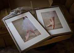 They're Here! ;D (lclower19) Tags: odc frame box whatsinthebox ballerinas dancers atsh story picture 1852 522019 happiness