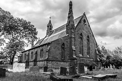St John's, Frankby (Philip Brookes) Tags: church stjohn frankby wirral england britain monochrome building architecture