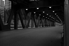 Underpass (streetravioli) Tags: street photography chicago steel beams