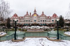 Disney land Hotel (myfrozenlife) Tags: disney disneylandparis disneylandpark eurodisney france paris themepark waltdisney aerialphotos chessy seineetmarne