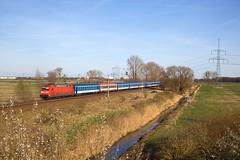 DB 101 028 + EC 378 Praha hl n - Kiel Hbf  - Bredow (Rene_Potsdam) Tags: deutschebahn bredow brandenburg deutschland br101 railroad treinen trains trenes züge europe europa