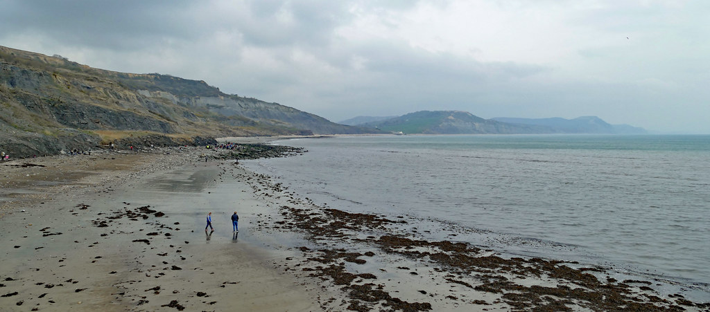 The Way East From Lyme Regis