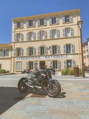Triumph Street Triple 765 RS (Cars & Bikes) Tags: funes de louis film gendarme le triumph 765 rs st tropez saint sud france gonfaron ride pirelli gendarmerie nationale iphonexs iphone