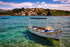 Koločep island, Croatia (Vest der ute) Tags: xt20 sea water island boat houses sky clouds boats croatia fav25
