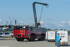 Alaska Airlines Avation Day (wacamerabuff) Tags: alaskaavationday firetruck seatac washington