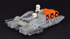 """TX-225 GAVw """"Occupier"""" combat assault tank (Luca s projects) Tags: tx225 lego moc star wars tank rogue one story lsp empire jedha imperial occupier"""