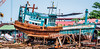 2019 - Cambodia - Sihanoukville - Tumnuk Rolok Dry  Dock - 2 of 2 (Ted's photos - For Me & You) Tags: 2019 cambodia cropped nikon nikond750 nikonfx tedmcgrath tedsphotos vignetting boat ship ក្រុងព្រះសីហនុ