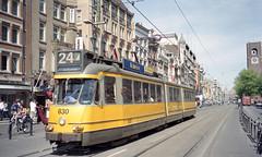 2000-05-16 Amsterdam Tramway Nr.630 (beranekp) Tags: netherlands holland amsterdam tramvaj tramway tram tranvia strassenbahn šalina elektrika električka 630