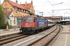 SBB 421 394 te Lindau HBF (vos.nathan) Tags: sbb re 44 ii schweizerischen bundesbahnen chemins de fer fédéraux suisses cff ferrovie federali svizzere ffs 421 394 lindau hbf hauptbahnhof