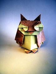 Owl - Oriol Esteve (Rui.Roda) Tags: origami papiroflexia papierfalten buho hiboux mocho coruja eule gufo owl oriol esteve