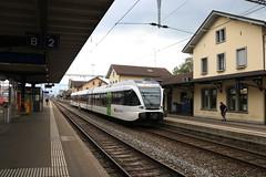 Thurbo 793-5 te Sankt Margrethen (vos.nathan) Tags: margrethen sankt st ffs cff sbb svizzere federali ferrovie suisses fédéraux fer de chemins bundesbahnen schweizerische stadler gtw thurbo 7935