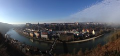 The Longest Castle In The World™ (*Vasek*) Tags: germany deutschland europe burghausen castle river border bridge