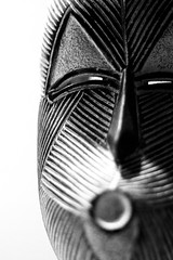 The Mask (Marius Maximus) Tags: kunst deco deko art maske mask blackandwhite bw schwarzweiss monochrome africa southafrica