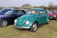 Volkswagen Beetle 1200 BAD806B (Andrew 2.8i) Tags: haynes museum sparkford classic car cars classics breakfast meet show german saloon sedan aircooled cooled air vw bug type 1 1200 beetle volkswagen