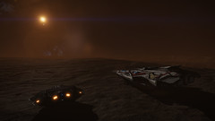Beagle Point (Rendevous)1 (Cmdr Hawkshadow) Tags: distantworlds2 elitedangerous aspexplorer anaconda