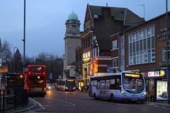 SK63 KNF, Edinburgh Road, December 27th 2015 (Southsea_Matt) Tags: sk63knf 47434 route2 first hampshire edinburghroad portsmouth england unitedkingdom december 2015 winter canon 60d bus omnibus vehicle transport