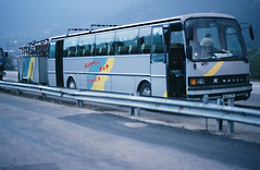 S 215H mit radanhänger A22, Südtirol, , Okt 1988