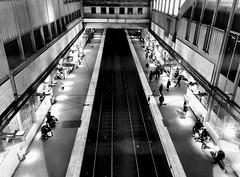 Underground (Franco-Iannello) Tags: blackwhite blackandwhite streetphotography underground people architecture