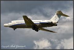 N164W Northrop Grumman - Last Flight, Low Pass (Photo #3) (Bob Garrard) Tags: n164wnorthropgrummanfinalflight lowpass bac 111401ak oneeleven bwi kbwi american airlines n5044 danair london gaxck