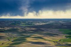 Ever-changing land and skies 7 (Richard McGuire) Tags: palouse steptoebutte us washington landscape skies sunset