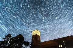star-trail-åh (englishgolfer) Tags: star trail night astrophotography åh church kyrka sweden sverige west coast västkusten nikon d7500 tamron 1750mm