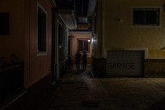 Backstreets..... (Dafydd Penguin) Tags: city urban night shots after dark nighthawks hawks candid street raw mood alleyway alley lane people woman grit town greece ionian island lefkas levkas lefkada leica m10 summicron 35mm f2