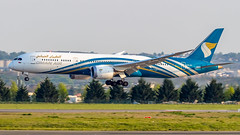 Boeing 787-9 Dreamliner A4O-SC Oman Air (William Musculus) Tags: plane spotting aviation airplane airport paris charles de gaulle roissy roissyenfrance lfpg cdg a4osc oman air boeing 7879 dreamliner wy oma william musculus