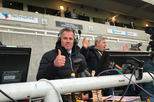 """Jamie Carragher at St. James Park, Newcastle • <a style=""""font-size:0.8em;"""" href=""""http://www.flickr.com/photos/22350928@N02/40857305133/"""" target=""""_blank"""">View on Flickr</a>"""