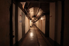 Galerie ... (TomCombal) Tags: galerie underground maginot fortification fortress war light shadow ombreetlumière tunnel festung guerre france canon forteresse gun souterrain histoire provence alpesmaritimes